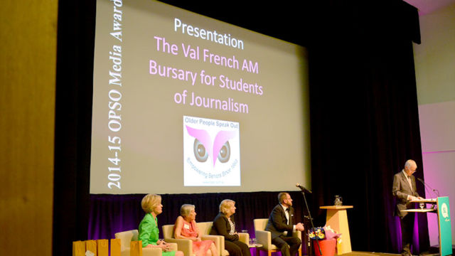 The Val French AM OPSO Bursary for Students of Journalism